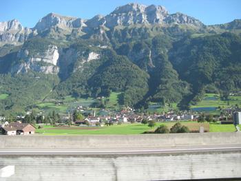 スイスの景色